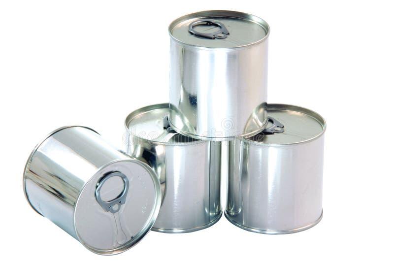 puszki aluminiowe zdjęcie stock