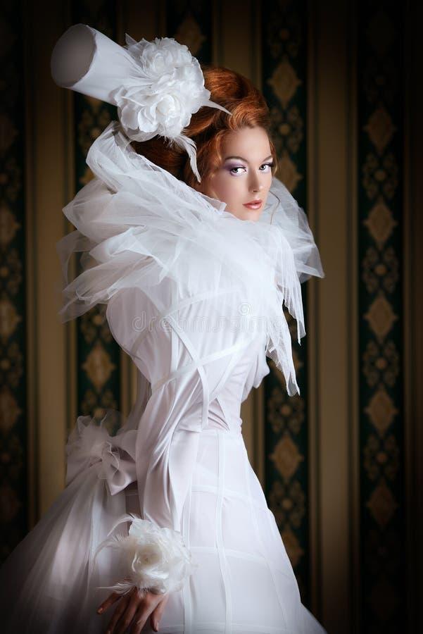 Puszysta suknia fotografia royalty free