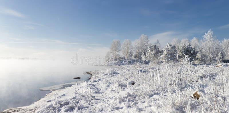 Puszysta zimy koc obrazy royalty free