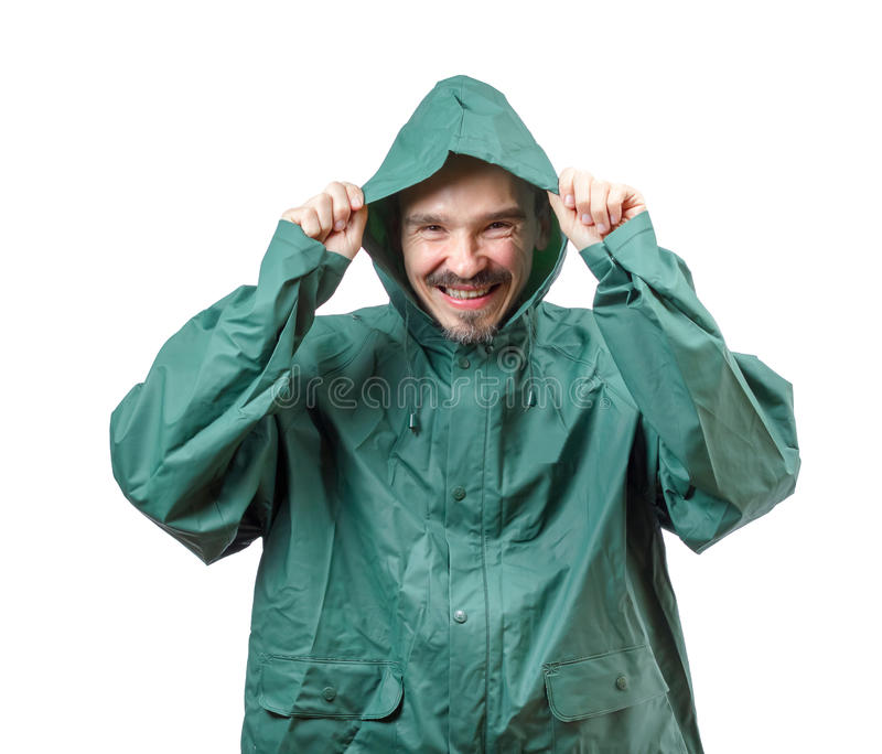 Download Put the hood on. stock photo. Image of waterproof, protective - 34239800