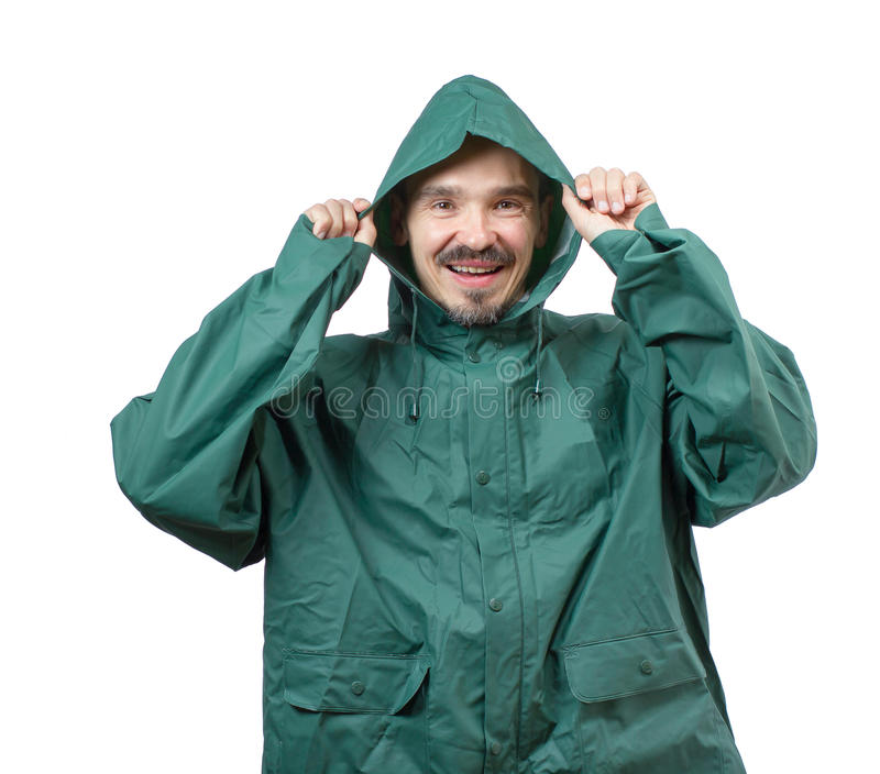 Download Put the hood on. stock image. Image of waterproof, smile - 34239925