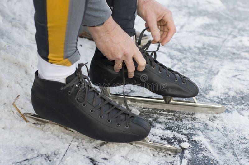 Put On The Skates Stock Image