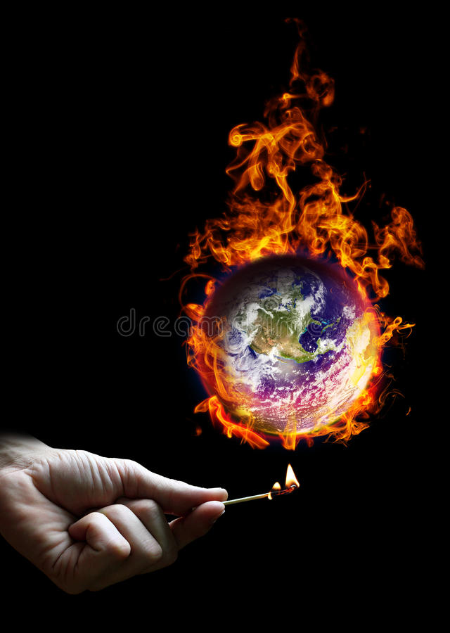 Free Put The World On Fire Stock Photo - 23686330