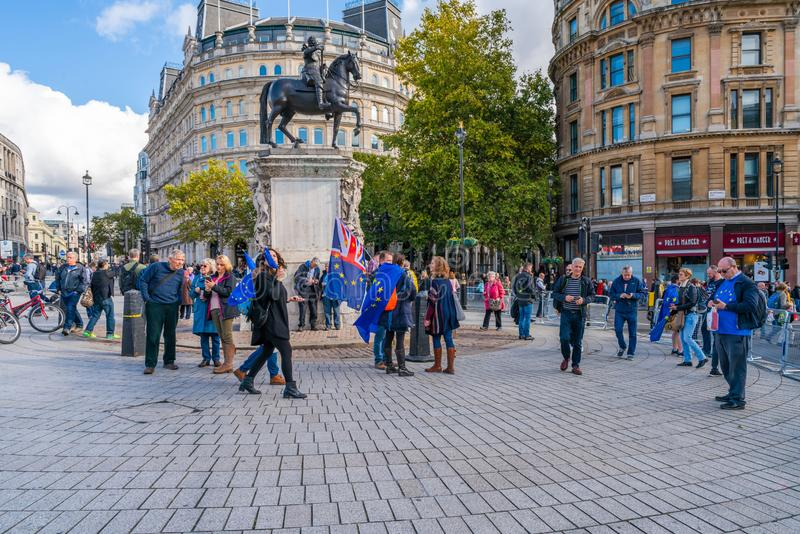 Put it to the People march, London UK royalty free stock image