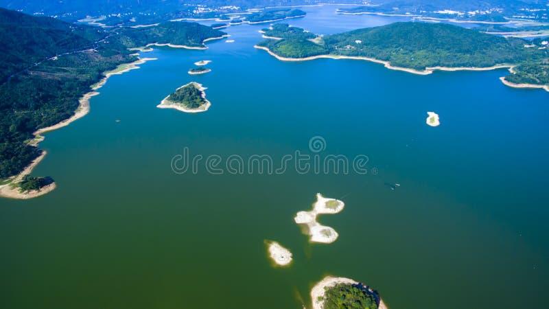 Putian Dongzhen rezerwuaru krajobraz obrazy stock