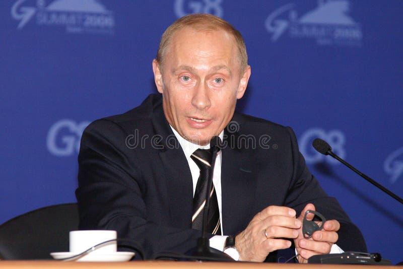 Putin Vladimir royalty free stock photo
