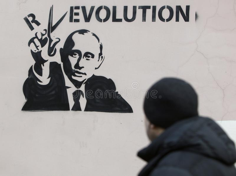 Putin y Reviolution libre illustration