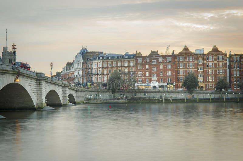 Putney Bridge in south west London royalty free stock photos