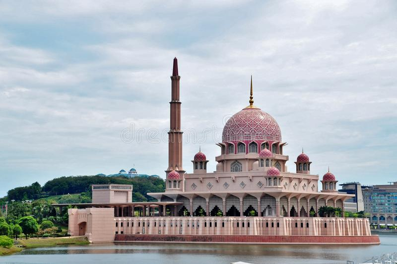 Putra清真寺 免版税库存照片