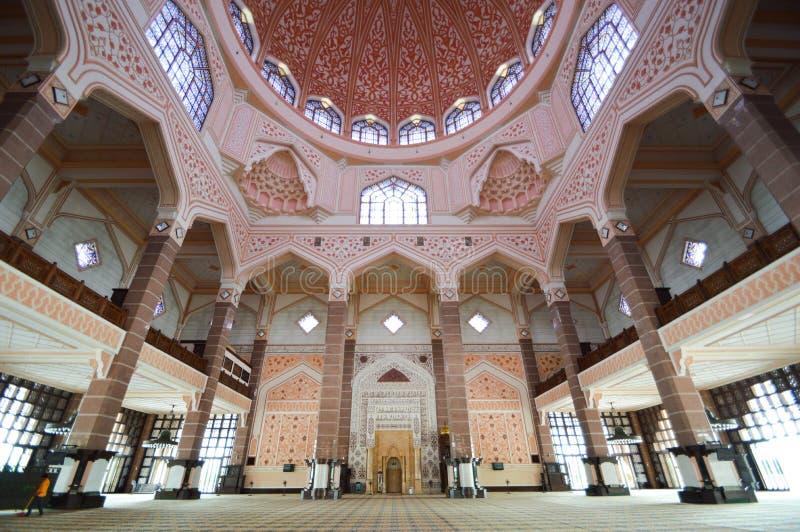 Putra Jaya清真寺 免版税库存图片