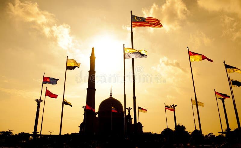 Putra Moschee Malaysia lizenzfreie stockbilder