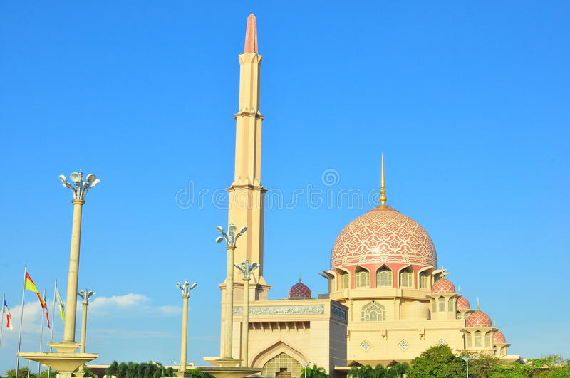 Download Putra mosque stock photo. Image of famous, interest, islamic - 22569702