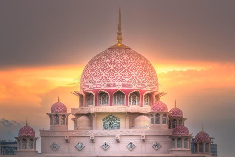 Download Putra Mosque With Dramatic Sky Putrajaya, Malaysia Stock Image - Image of culture, asian: 109230609