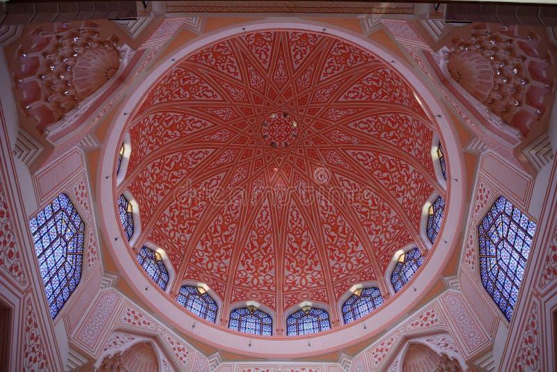 putra putrajaya мечети Малайзии стоковое изображение rf