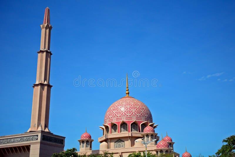 putra putrajaya мечети Малайзии стоковые изображения rf