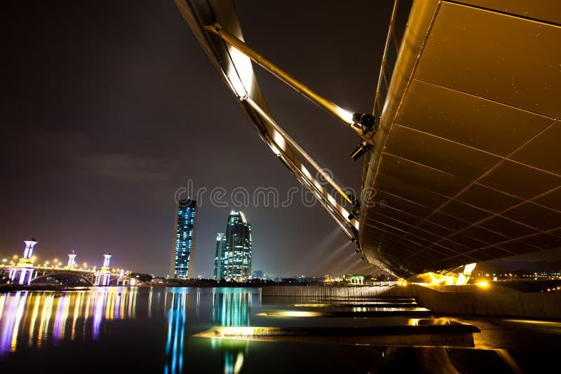 Putrajaya,马来西亚都市风景 免版税库存图片