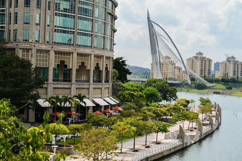 Putrajaya, administratief centrum van Maleisië royalty-vrije stock foto's