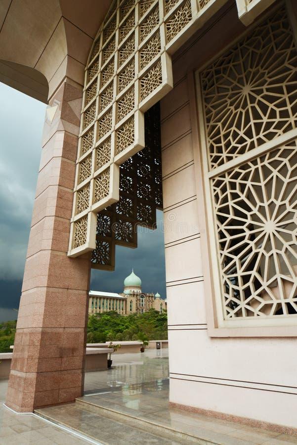 Putrajaya, administratief centrum van Maleisië royalty-vrije stock afbeelding