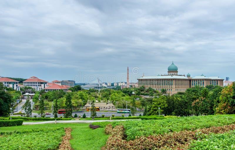 Putrajaya-Ansicht von Park Putra Perdana lizenzfreie stockfotografie
