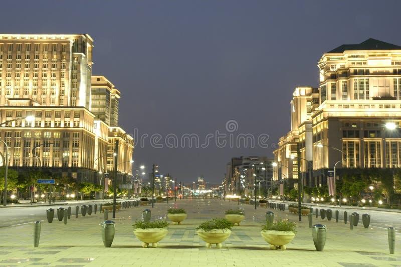 Putrajaya Boulevard. Putrajaya Federal Territory, Malaysia stock images