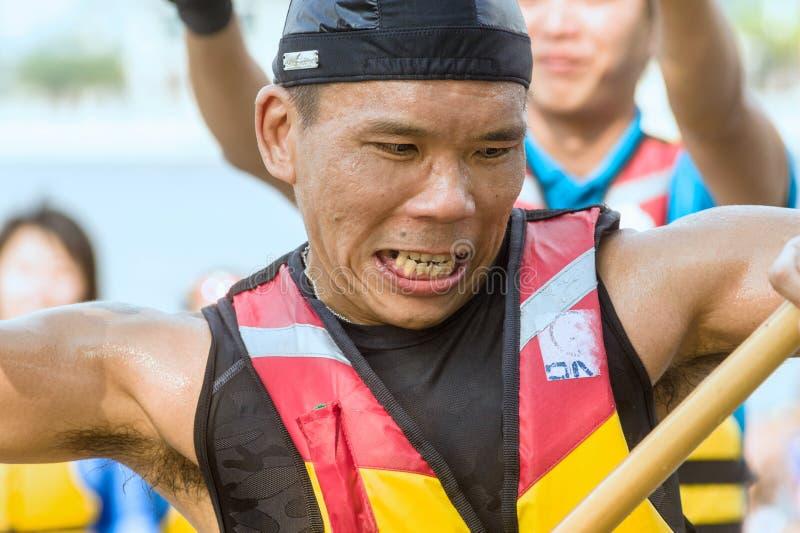 Putrajaya, Kuala Lumpur, het festival van de draakboot royalty-vrije stock foto