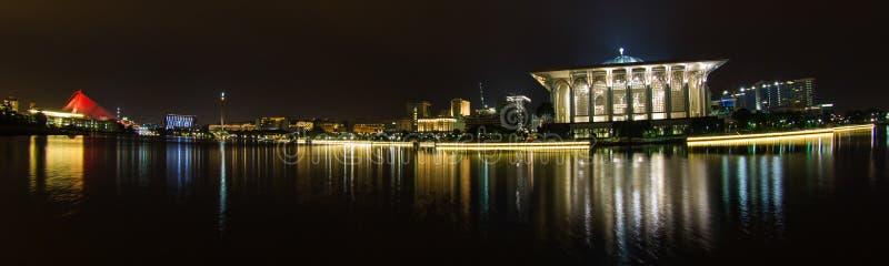 Putrajaya, Malaisie, Nightscape II image stock
