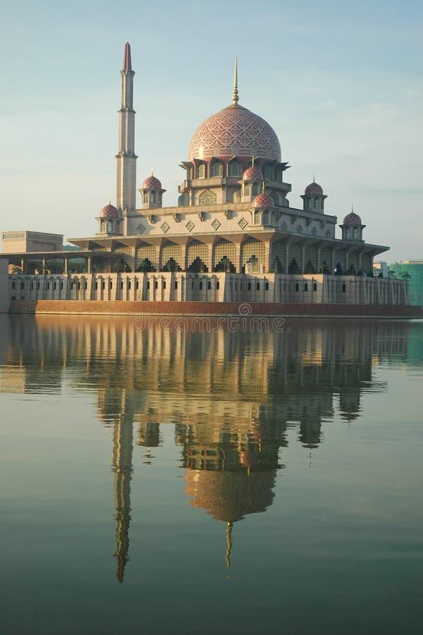Putrajaya malaysia meczetu obraz royalty free