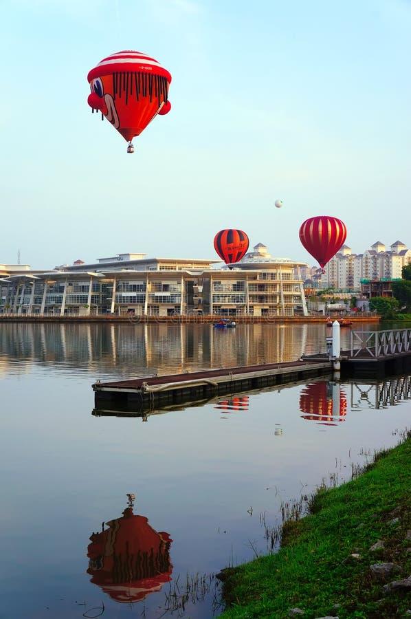 de 5de Fiesta 2013 van de Ballon van de Hete Lucht Putrajaya stock fotografie