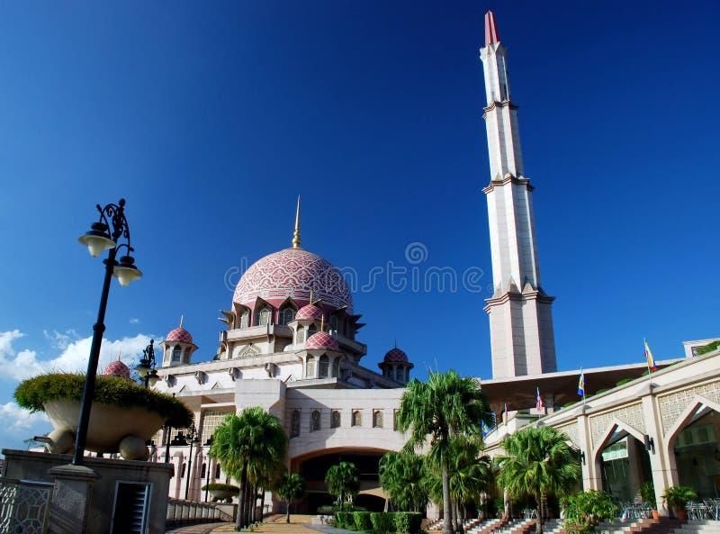 Putrajaya mosque royalty free stock images