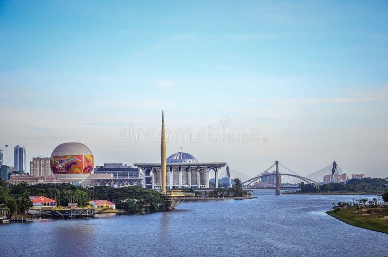 Putrajayastad royalty-vrije stock foto's