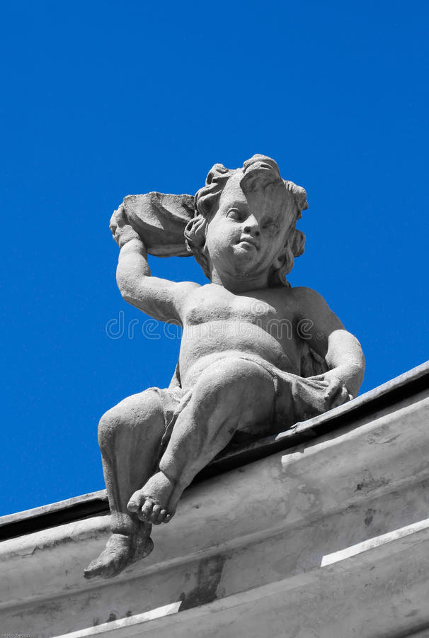 Download Putti - Cherub stock photo. Image of gravestone, christianity - 24930540