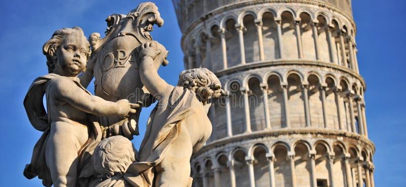 Putti del dei de Fontana del La imagen de archivo libre de regalías