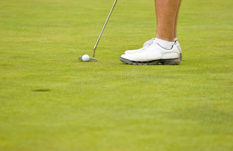 Download Putting stock image. Image of professional, competitiveness - 10799665