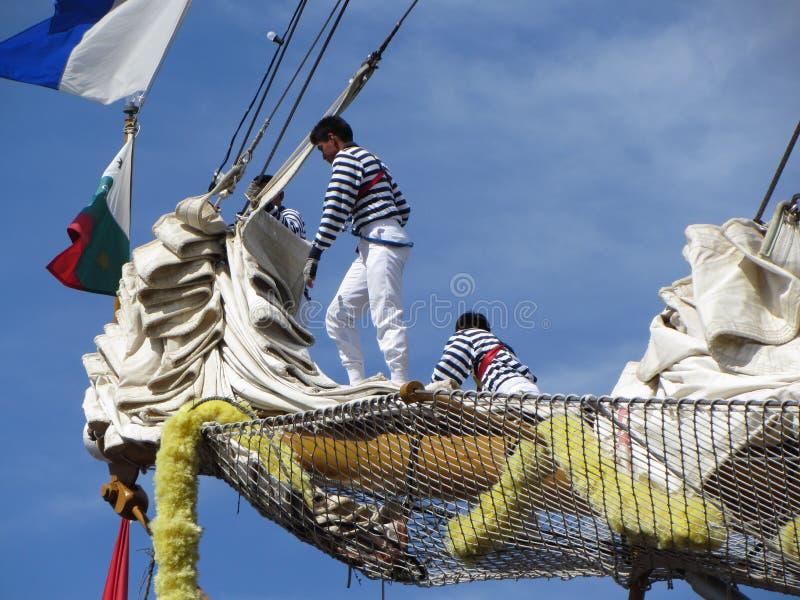 Putting Away the Sails