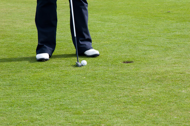Putting Green Royalty Free Stock Photo