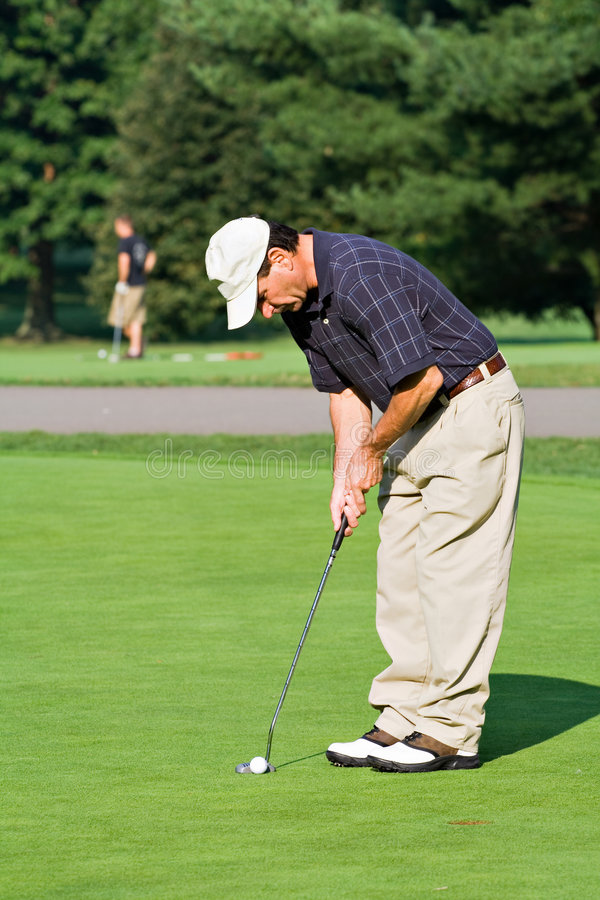 Download Putting Green stock image. Image of lesson, form, putting - 2903233