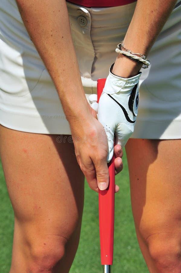 Download Putting grip stock image. Image of girl, golfing, shot - 25990323