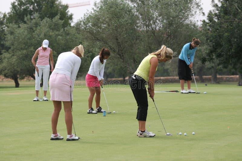 Putting, Ladies European Tour, Castelllon, 2006 royalty free stock photography