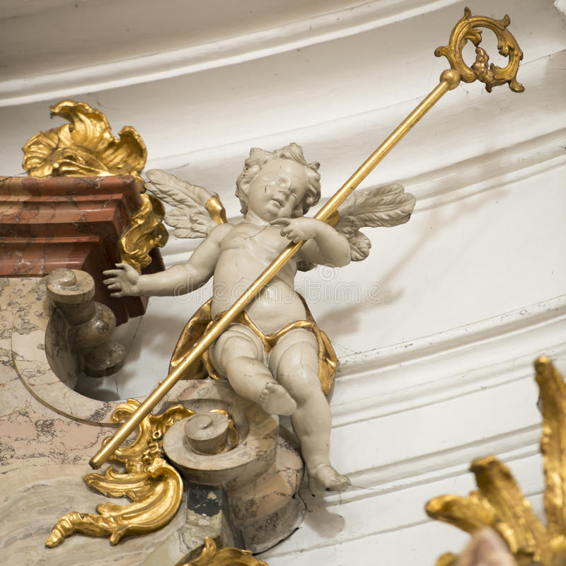 Putto stock photography
