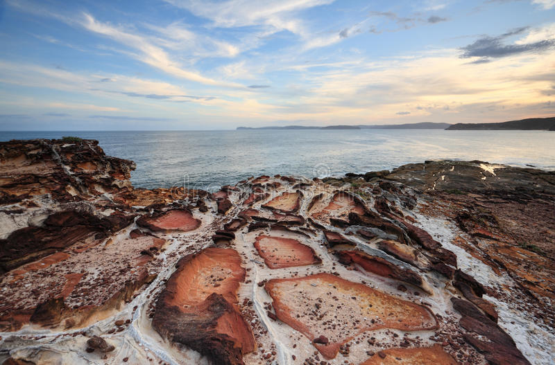 Putty Beach Kilcare stock photos