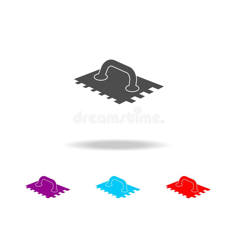 putty knife icon. Elements of construction materials in multi colored icons. Premium quality graphic design icon. Simple icon for royalty free illustration
