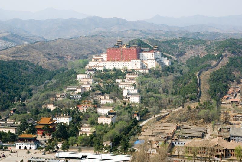 Putuo Zongcheng Tempel stockfotografie