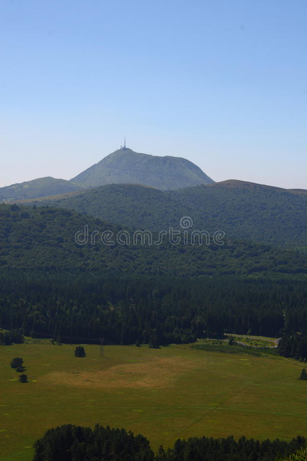 Download Puy de dome stock photo. Image of dormant, mountain, volcano - 10533076