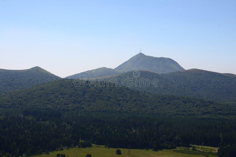 Puy De Dome Royalty Free Stock Photos