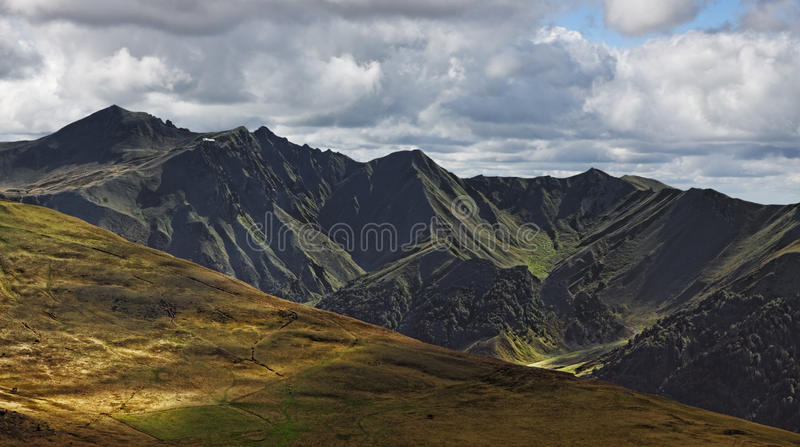 Puy de Sancy foto de stock royalty free