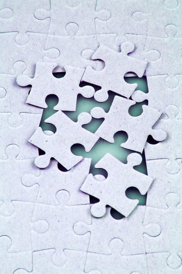 Puzzel stock foto's