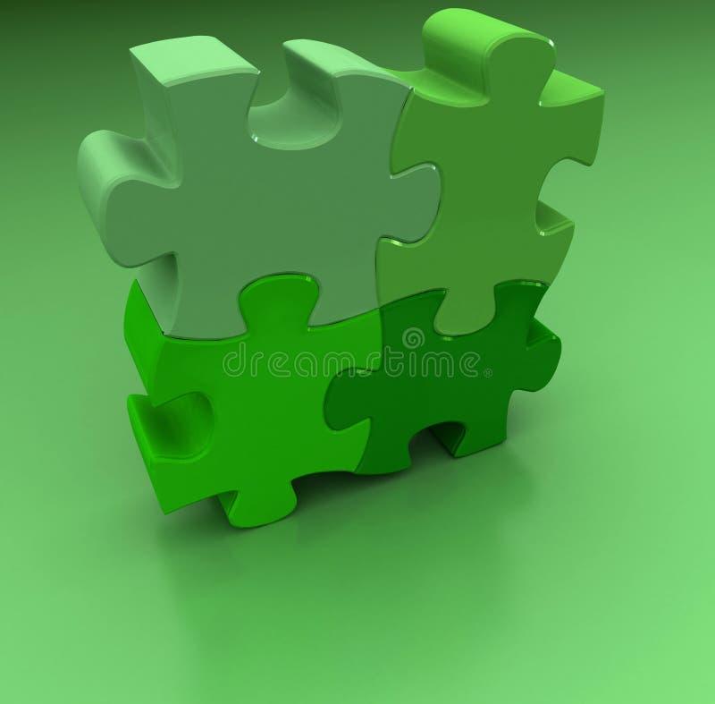 Puzzel royalty-vrije illustratie