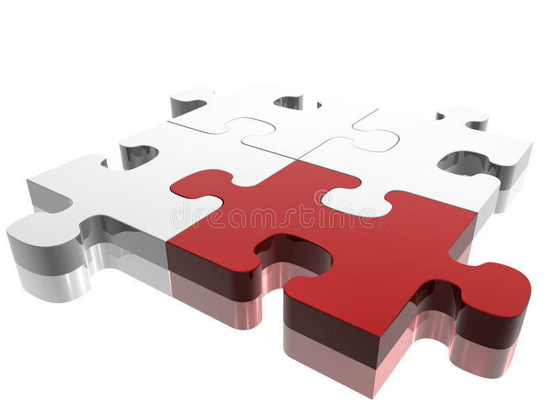 Puzzel vector illustratie