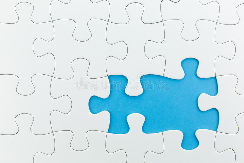 Puzzelgebruik voor bedrijfsachtergrond stock foto
