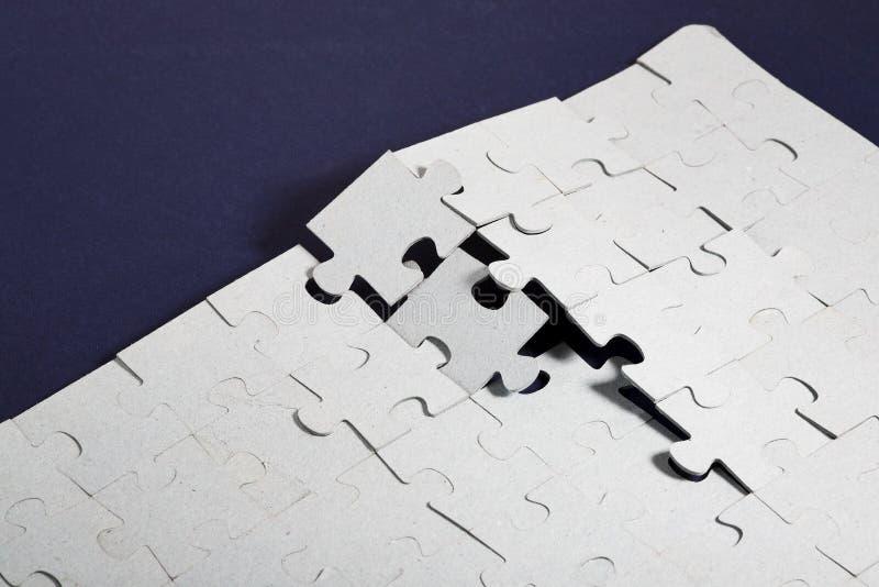 puzzle ściany obrazy stock